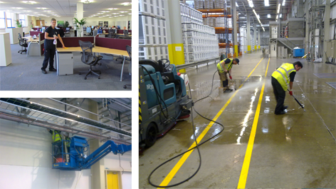ISM Facilities Services Industrial Cleaning & Hygiene