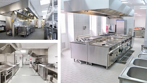 ISM Facilities Services Kitchen Cleaning
